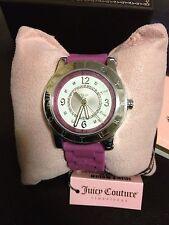 New Juicy Couture Pedigree Pink Jelly Strap ladies watch.NIB...1900830