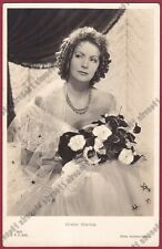 GRETA GARBO 80 ATTRICE ACTRESS ACTRICE CINEMA MOVIE Cartolina REAL PHOTO 1936