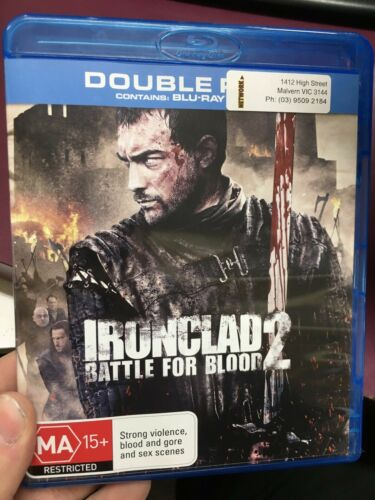 1 of 1 - Ironclad 2 - Battle For Blood ex-rental BLU RAY (2016 action movie) * cheap *