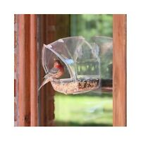 Outdoor Bird Feeder House Window
