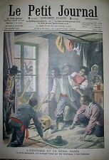 CHINE JAPON RACISME ETATS-UNIS SAN FRANCISCO CHAMONIX SKI LE PETIT JOURNAL 1908