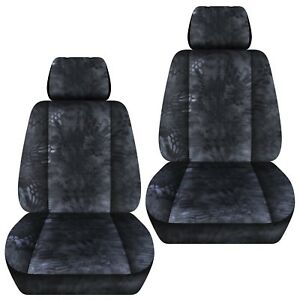 Fit-07-18-Holden-commodore-VE-Omega-Sedan-front-set-car-seat-covers-CAMOUFLAGE