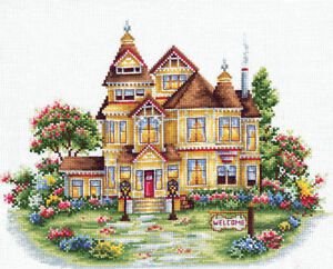 IRISES Counted Cross Stitch Kit MAKE YOUR OWN HANDS