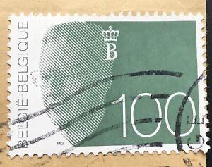 Belgium Stamps King Boudewijn 100 Belgian Franc 1992 Ebay