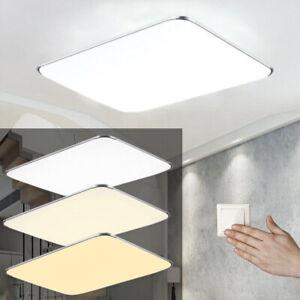 Details zu 12W-128W LED Badleuchte Deckenleuchte Dimmbar Deckenlampe  Wohnzimmer Küche IP44