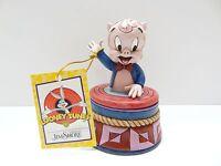 Jim Shore Looney Tunes Porky Pig Treasure Box 4053085 Trinket Enesco Cartoon
