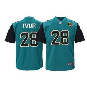 eba8d47e Details about Fred Taylor Jacksonville Jaguars NFL Youth Nike Teal Alt Game  Jersey