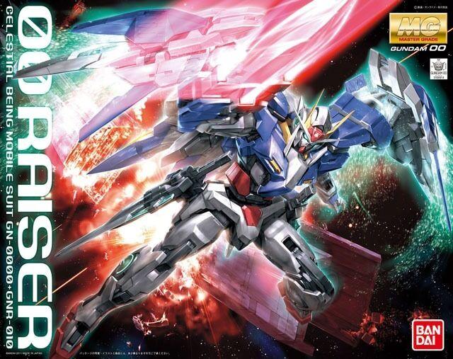 BANDAI MG 1  100 GN -0000 GNR -010 00 RAISER Plastic modellllerler Kit Gundam 00 japan