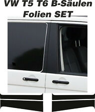VW T6 T5 B-Säulen Folien Set Links & Rechts