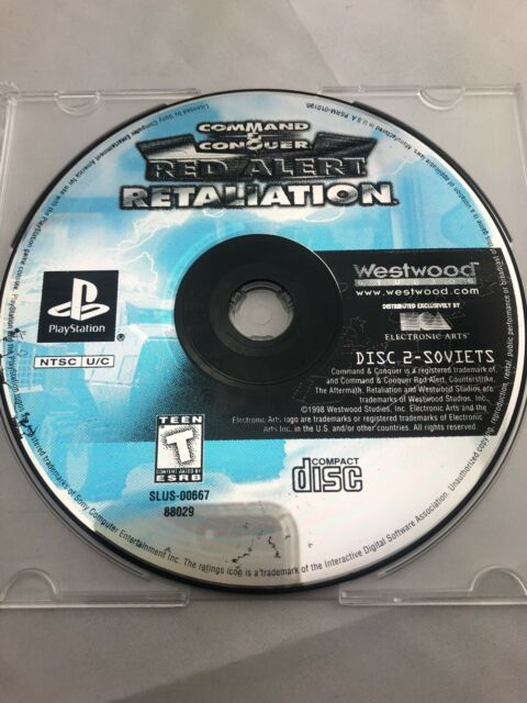 Command and Conquer Red Alert Retaliation Disc 2 Only PS1 Tested
