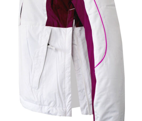 Columbia Womens Ski Jacket Slip Jacket Winter Jacket Winter Jacket White Waterproof