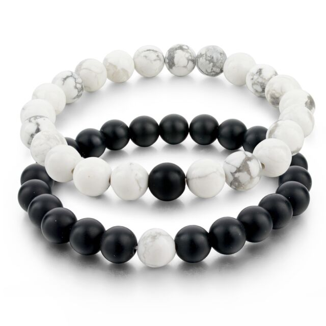 Black Natural Stone Jewelry
