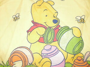 2 tlg Kinderbettwäsche Bettwäsche Winnie The Pooh