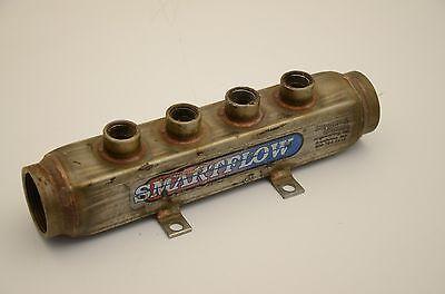 "Smartflow 8SL-4 Stainless Steel Manifold, 1-1/2"" NPT, 4-Port"