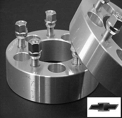 4 Pc CHEVY S-10 BLAZER 5x4.75 WHEEL ADAPTER SPACERS 2.00 Inch # 5475E1215