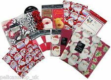 LUXURY BUMPER CHRISTMAS WRAPPING TAGS PAPER BOWS GIFT BAGS KIT PACK RRP £22+