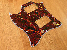 PICKGUARD BROWN TORTOISE 4 PLY LEFT HANDED  FULL FACE FOR GIBSON SG STANDARD