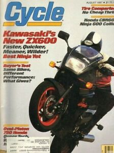 1987-August-Cycle-Motorcycle-Magazine-Back-Issue
