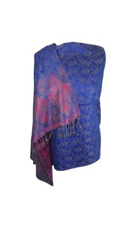 Designer Floreale Paisley Scialle Sciarpa Avvolgere Pashmina Caldo Morbido silkytouch Regalo