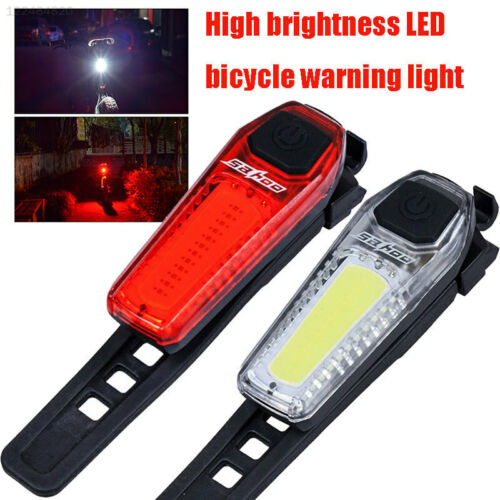 100LM Bicycle Rear Light Bicycle Taillights Rechargeable Waterproof Practical