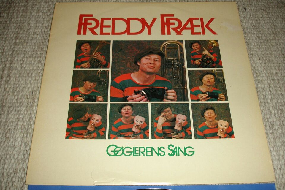 LP, Freddy Fræk , Gøglerens Sang