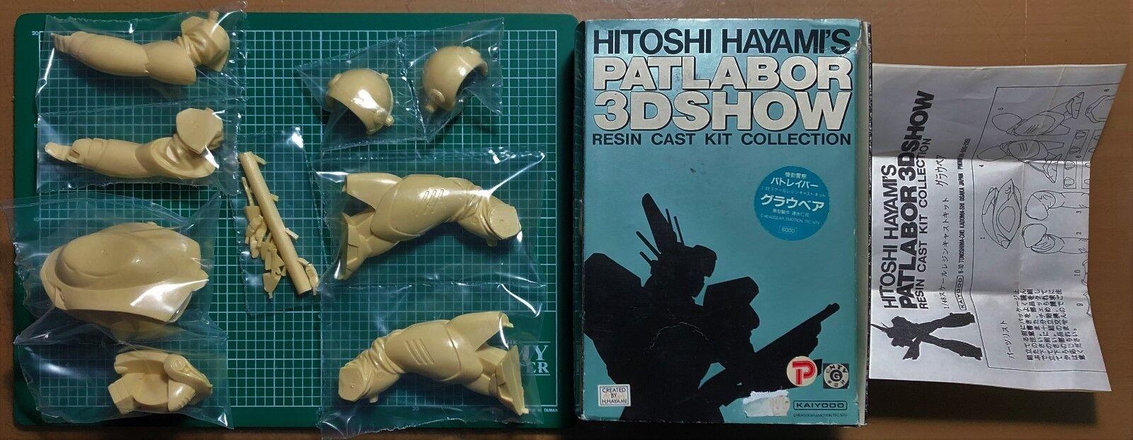 KAIYODO - HITOSHI HAYAMI PATLABOR 3D SHOW gris BEAR - 1 48 RESIN KIT