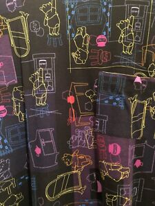 NWT LuLaRoe Disney Winnie the Pooh Carly Dress Size XS X-Small 110727 Pink