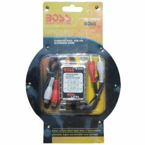 Boss-B25n-Suppresseur-de-Bruit-Con-2-Rca-Amplificateur-Stereo-Voiture-Cables