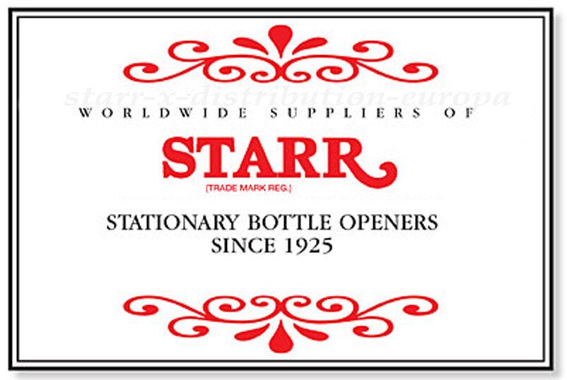 USA Wandflaschenöffner REGENBOGENFLAGGE Edelstahl orig. STARR X Kult seit seit seit 1925   Deutschland  191433