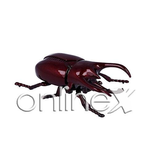 Escarabajo Rojo Imitación Insecto Ciervo Ideal Gastar Bromas a1535