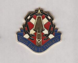 Details about US Army Virginia National Guard ARNG crest DUI badge c/b P-23