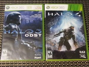 Halo-3-ODST-amp-Halo-4-Xbox-360-Video-Game-Bundle-Lot-SHIPS-TODAY