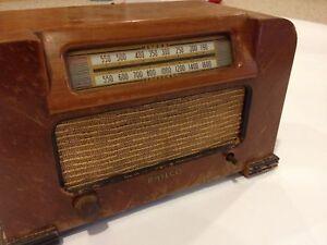 Image Is Loading 1942 Philco Model 42 321 Vintage Tube Radio