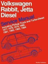 Volkswagen Rabbit, Jetta Diesel Service Manual Including Pickup Truck and Turbo-
