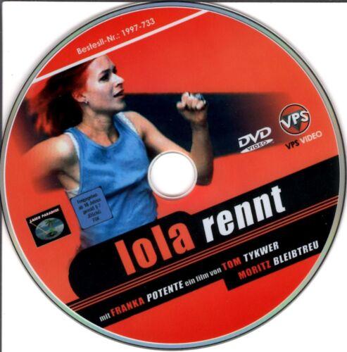 1 von 1 - Lola rennt von Tom Tykwer  - DVD - ohne Cover #m69