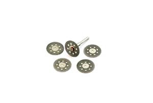 Revesun 10 Pc Diamond Cutting Discs Drill Bit For Rotary Tool Dremel Stone Blade