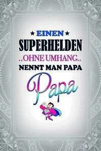 Superhero-without-Cape-Papa-Tin-Sign-Shield-Arched-Tin-Sign-20-x-30-cm-CC0990