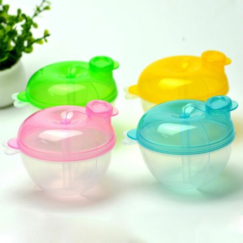 Baby Milk Powder Formula Dispenser Food Container Storage Feeding Box 3Layer