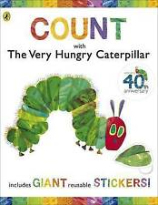 Count with the Very Hungry Caterpillar (Sticker Book) by Eric Carle (Spiral b...