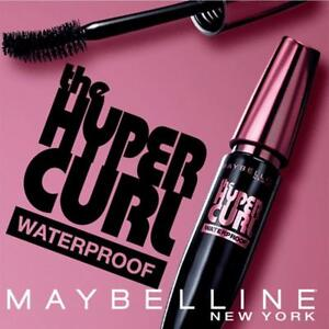 1adffe603cf Image is loading Maybelline-Hypercurl-Volum-Express-Waterproof-Mascara -Very-Black-