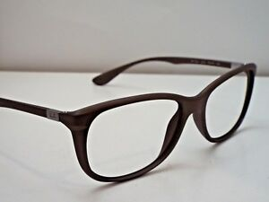 fc16c10282 Authentic Ray-Ban RB 7024 5205 Gold Brown Liteforce Eyeglasses DEMO ...