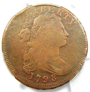 1798-Draped-Bust-Large-Cent-1C-Coin-Reverse-of-1795-Certified-PCGS-VG-Detail