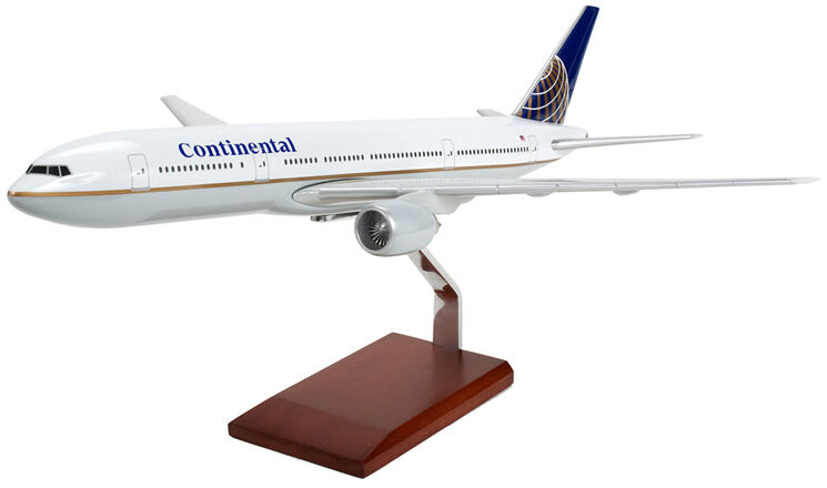 Executive Series G8320 Continental Airlines Boeing 777-200 échelle 1 200 Nouveau