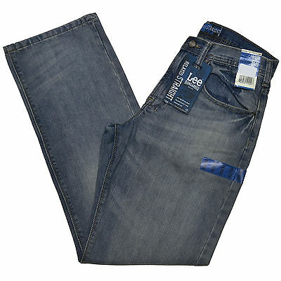 Lee Jeans Dungarees Relaxed Straight Blue Tag  All Sizes Mens Denim