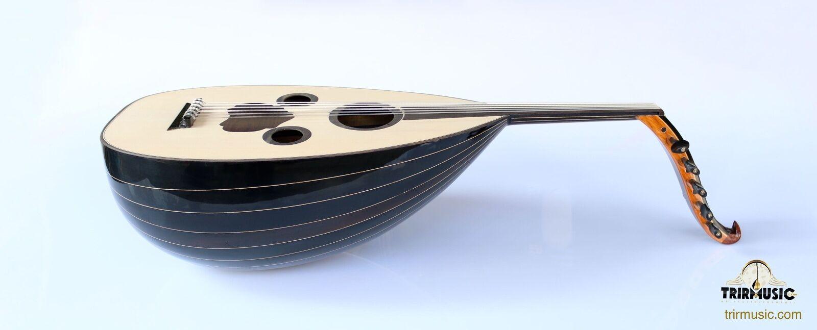 Instrumento de cuerdas cuerdas cuerdas de nogal Hecho a Mano árabe oud Ud AAO-108 3cff29