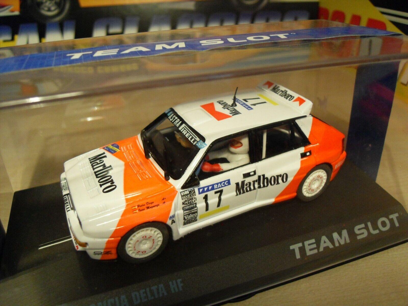 Team Slot 11209 - Lancia Delta HF Integrale - 'Marlbgold' - Brand New in Box.