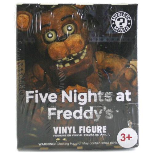 Funko Five Nights at Freddy/'s Mystery Minis Vinyl Figure Random Figure Supplied