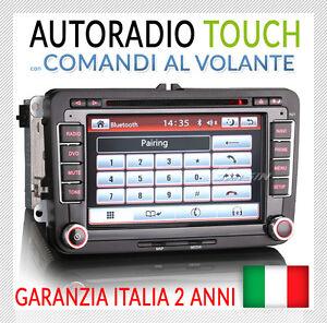 AUTORADIO-7-034-Navi-VW-GOLF-5-6-GTI-NewBeetle-Passat-Tiguan-Touran-Scirocco-Bora