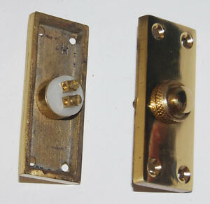 Solid-brass-bell-push-2Pcs-as-a-set-ref-71