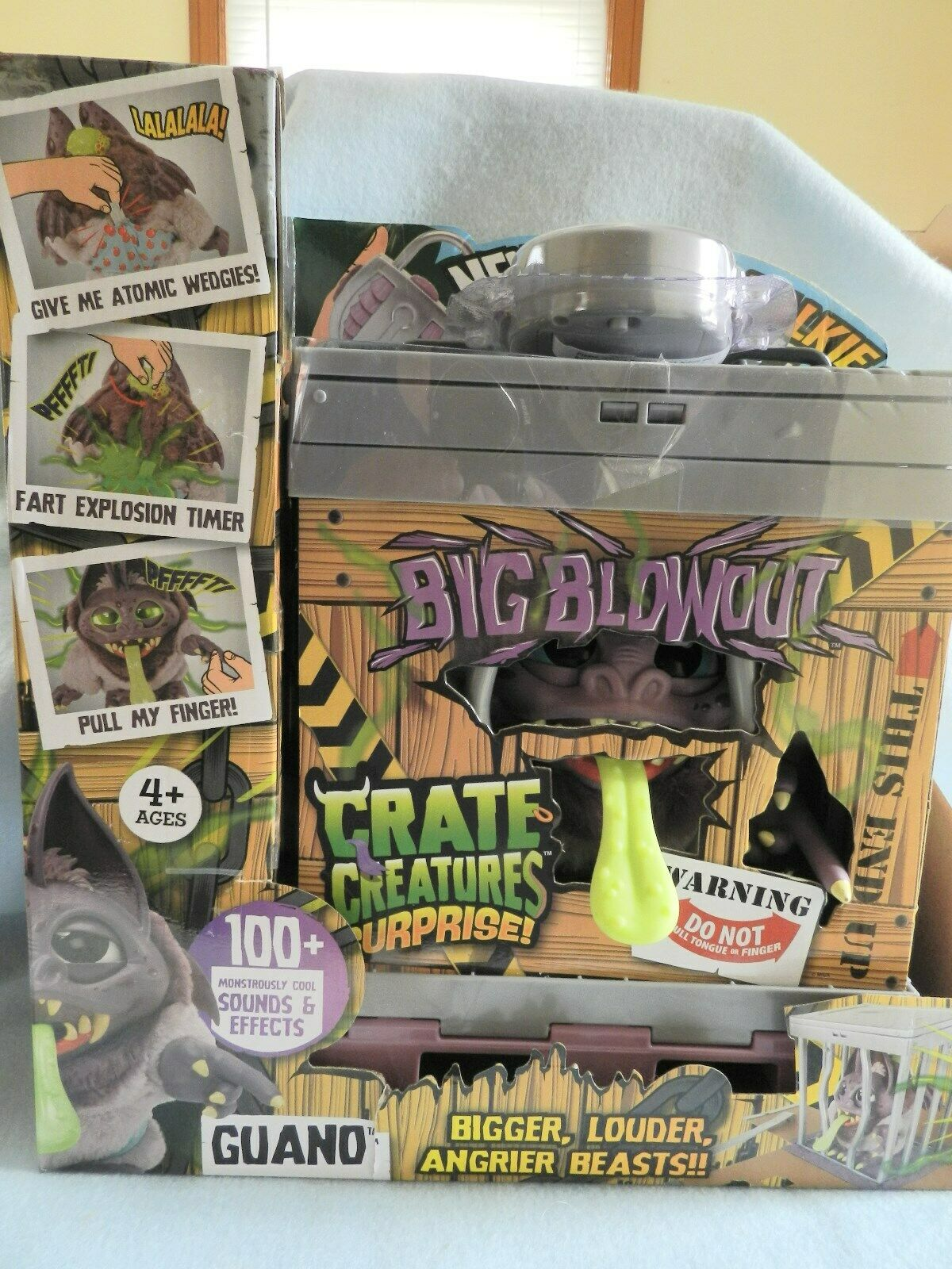 "Crate Creatures Surprise Big Blowout - GUANO with ""Lockie Talkie"" NEW USA"